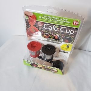 Reusable pods k cup 2 pack and scoop